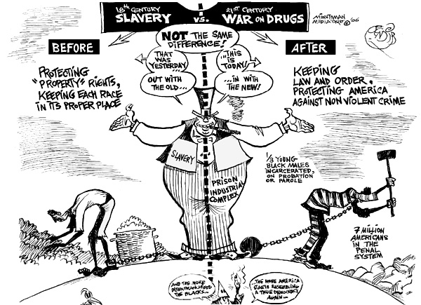18th Century Slavery – 21st Century War on Drugs
